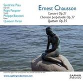 Concert op.21, Chanson perpétuelle op.37, Quatuor op.35 - Chausson - Parisii
