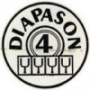 4 diapasons