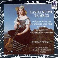 Musique de chambre pour guitare - Castelnuovo-Tedesco - Parisii
