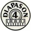 4 diapasons